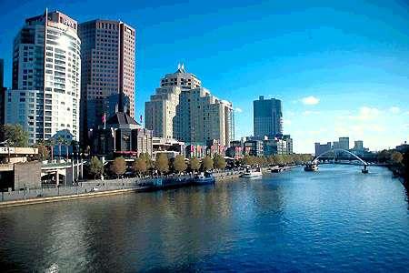 Крупные города австралии